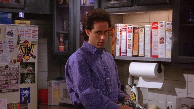 Kellogg's, Quaker and Cap'n Crunch Cereals in Seinfeld Season 6 Episode 4