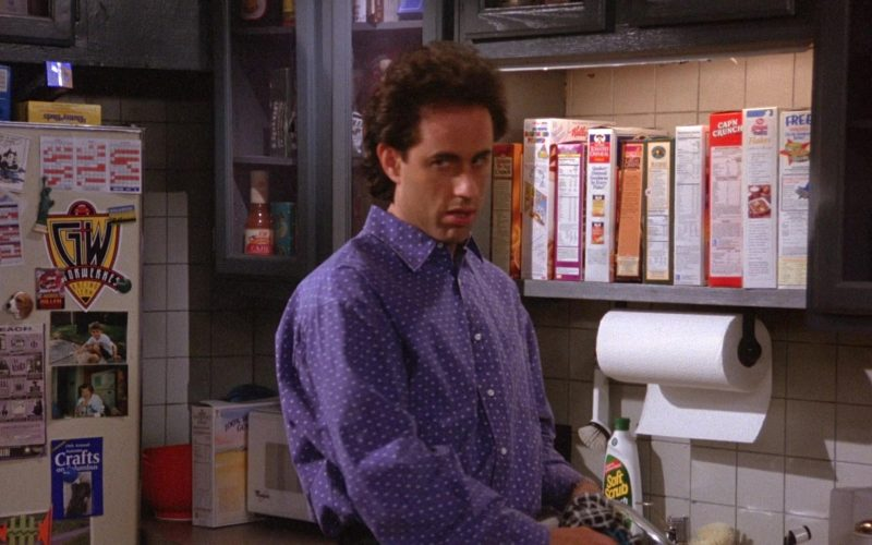 Kellogg's, Quaker and Cap'n Crunch Cereals in Seinfeld Season 6 Episode 4