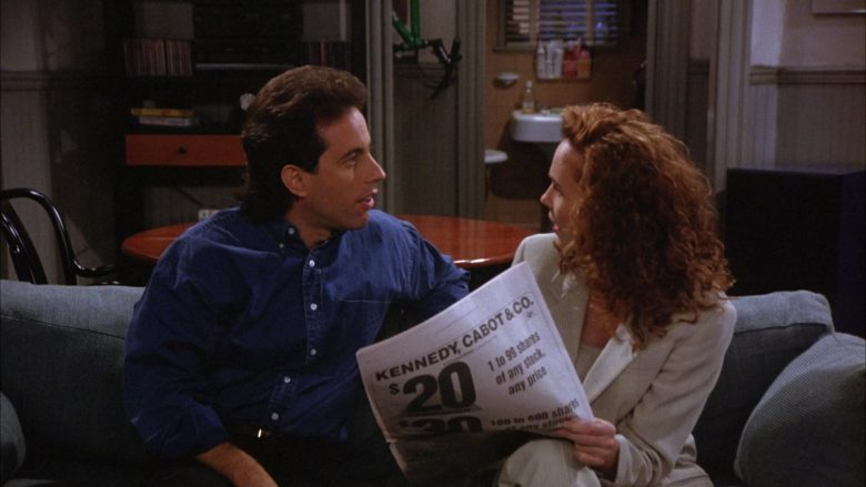 Kennedy, Cabot & Co. Newspaper Advertising in Seinfeld Season 6 Episode 2 The Big Salad (2)