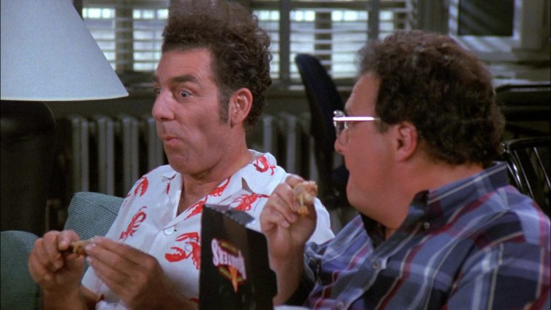 Kenny Rogers Roasters Food Enjoyed by Wayne Knight as Newman in Seinfeld Season 8 Episode 8 The Chicken Roaster (6)