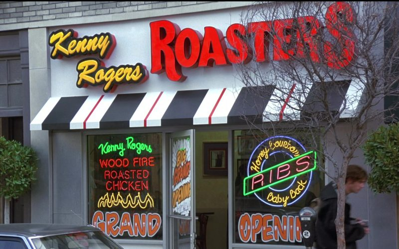 Kenny Rogers Roasters Restaurant in Seinfeld Season 8 Episode 8 The Chicken Roaster (1)