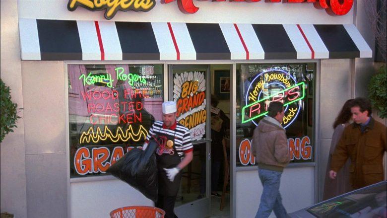 Kenny Rogers Roasters Restaurant in Seinfeld Season 8 Episode 8 The Chicken Roaster (2)
