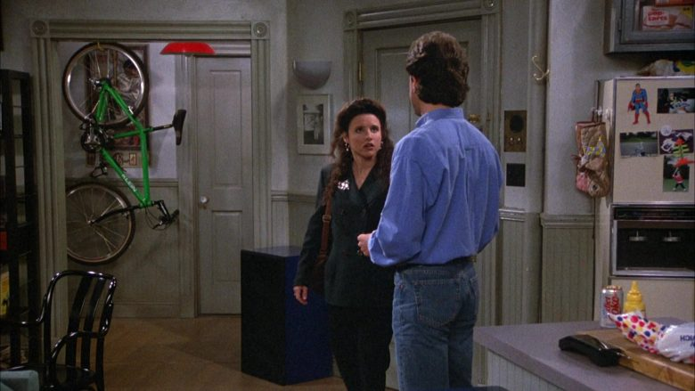 Klein Bicycle, Diet Coke, Wonder Bread in Seinfeld Season 4 Episodes 23-24 The Pilot