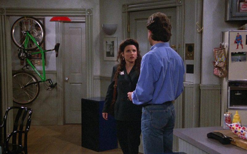 Klein Bicycle, Diet Coke, Wonder Bread in Seinfeld Season 4 Episodes 23-24 The Pilot