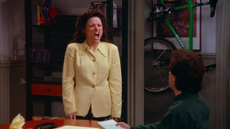 Klein Bicycle (Green) in Seinfeld Season 5 Episode 20 The Fire (1)
