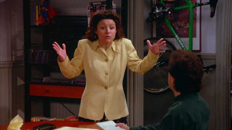 Klein Bicycle (Green) in Seinfeld Season 5 Episode 20 The Fire (2)