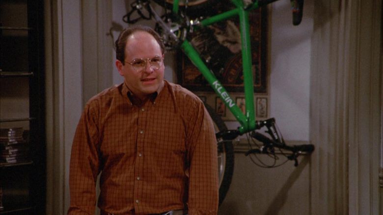 Klein Bicycle in Seinfeld Season 3 Episode 21 The Letter (2)