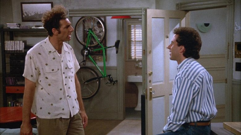 Klein Bicycle in Seinfeld Season 4 Episode 3 The Pitch