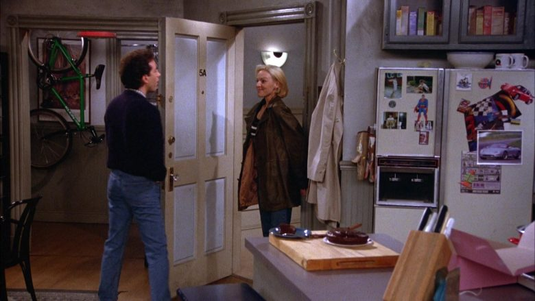 Klein Bicycle in Seinfeld Season 5 Episode 11 The Conversion (2)