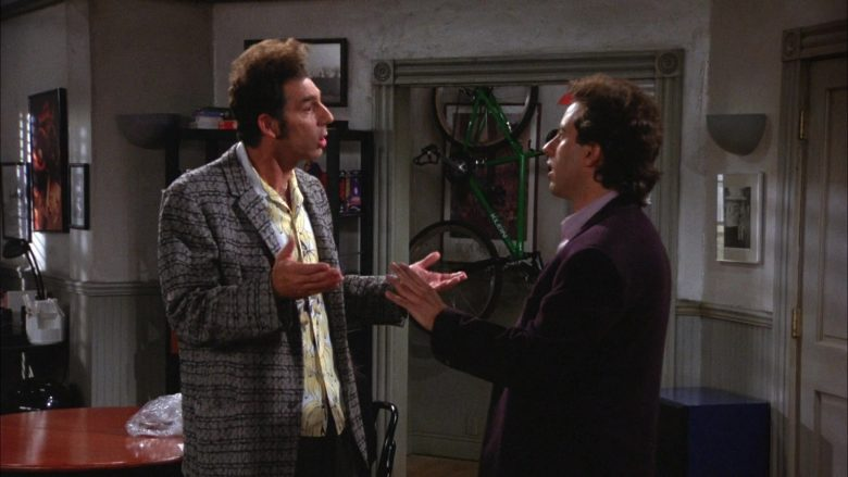 Klein Bicycle in Seinfeld Season 6 Episode 1 The Chaperone (4)