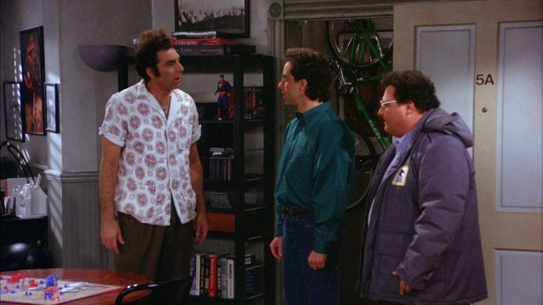 Klein Bicycle in Seinfeld Season 6 Episode 12 The Label Maker (1)