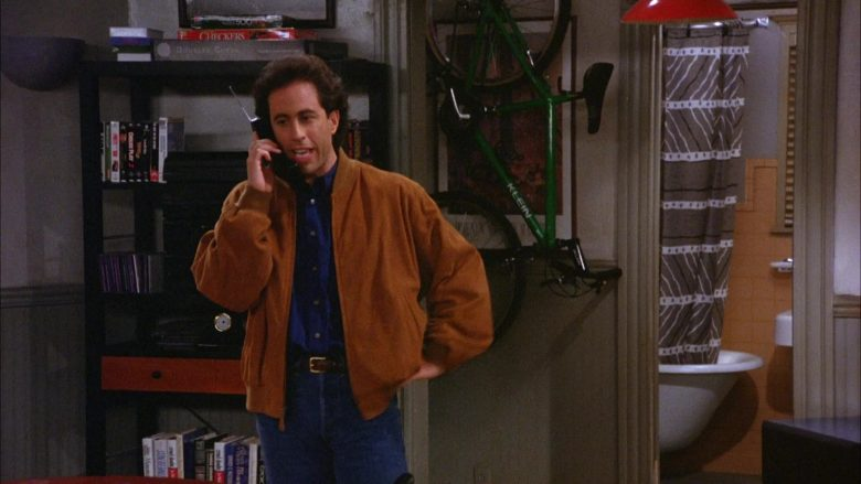 Klein Bicycle in Seinfeld Season 6 Episode 12 The Label Maker (3)