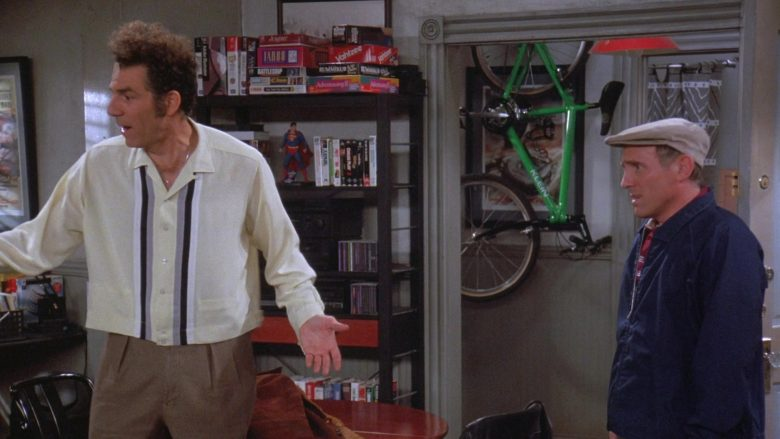 Klein Bicycle in Seinfeld Season 7 Episode 12 The Caddy (2)