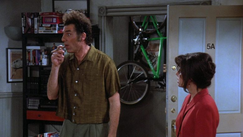 Klein Bicycle in Seinfeld Season 7 Episode 24 The Invitations