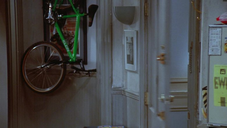 Klein Bicycle in Seinfeld Season 7 Episode 7 The Secret Code