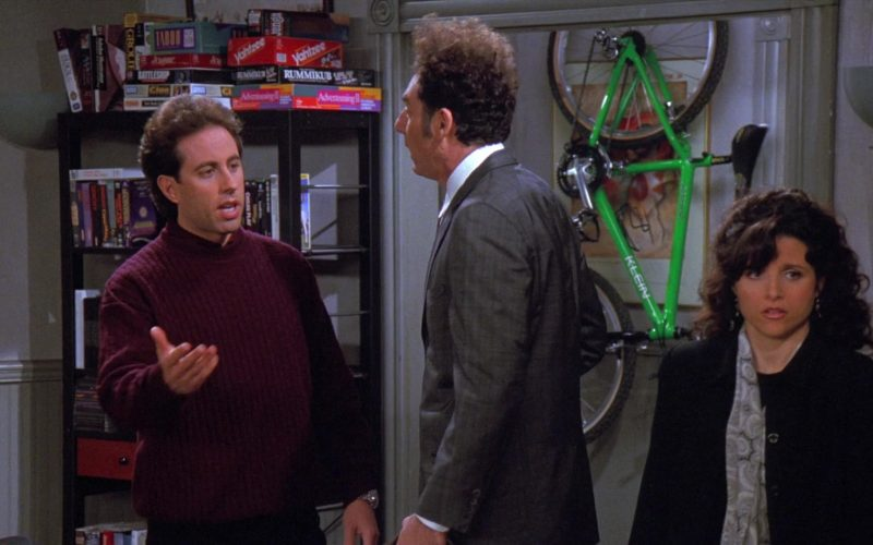 Klein Bicycle in Seinfeld Season 8 Episode 13 The Comeback