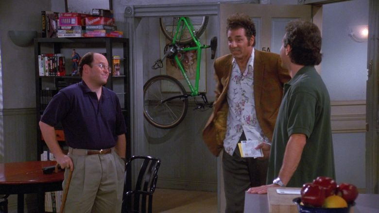 Klein Bicycle in Seinfeld Season 9 Episode 1 The Butter Shave (2)