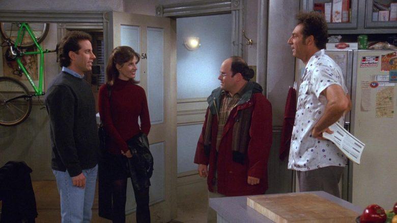 Klein Bicycle in Seinfeld Season 9 Episode 13 The Cartoon (2)