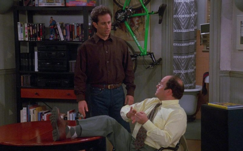 Klein Bicycle in Seinfeld Season 9 Episode 7 The Slicer