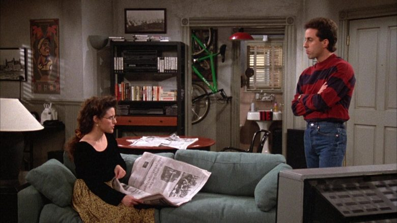 Klein Bike Used by Jerry Seinfeld in Seinfeld Season 3 Episode 16 The Fix-Up (1)