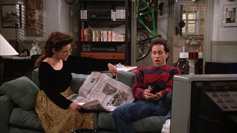 Klein Bike Used by Jerry Seinfeld in Seinfeld Season 3 Episode 16 The Fix-Up (2)