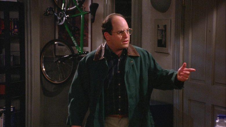 Klein Bike in Seinfeld Season 6 Episode 4 The Chinese Woman (2)