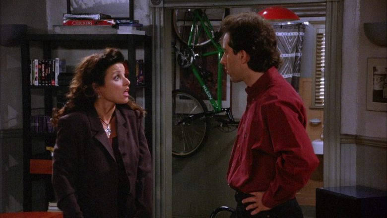 Klein Bike in Seinfeld Season 6 Episode 4 The Chinese Woman (5)
