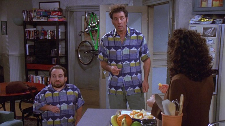 Klein Bike in Seinfeld Season 8 Episode 19 The Yada Yada