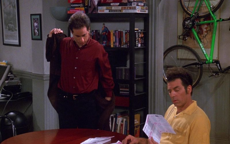 Klein Bike in Seinfeld Season 9 Episode 14 The Strongbox
