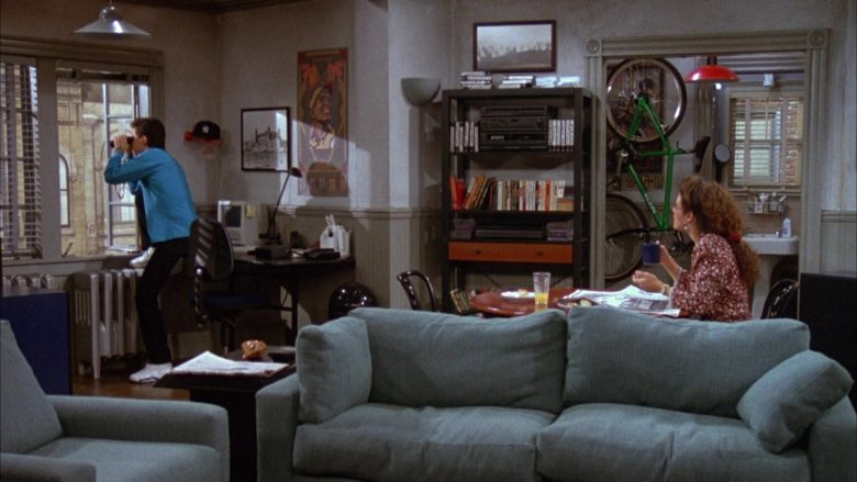 Klein Green Bicycle in Seinfeld Season 3 Episode 7 The Café (1)