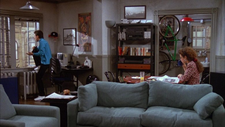Klein Green Bicycle in Seinfeld Season 3 Episode 7 The Café (2)