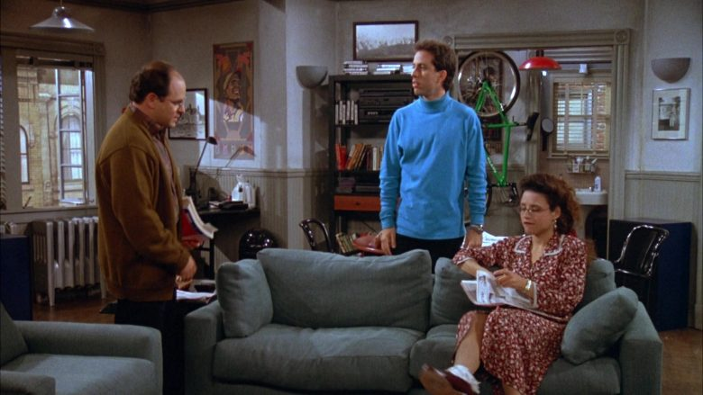 Klein Green Bicycle in Seinfeld Season 3 Episode 7 The Café (3)