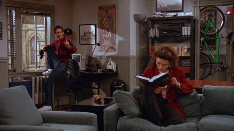 Klein Green Bicycle in Seinfeld Season 3 Episode 7 The Café (4)
