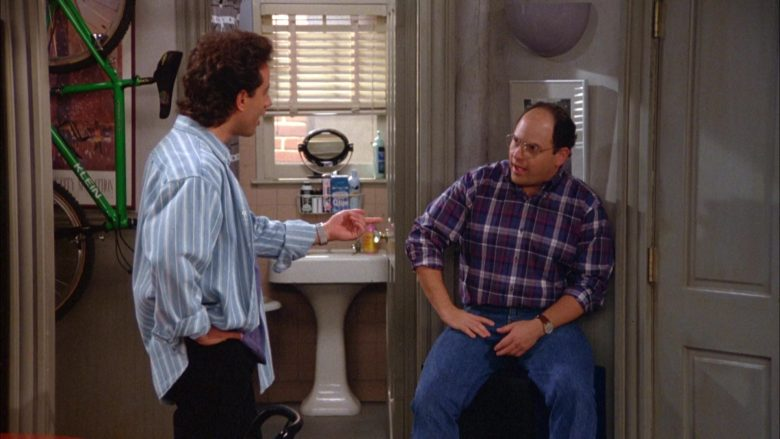Klein Green Bicycle in Seinfeld Season 5 Episode 6 The Lip Reader