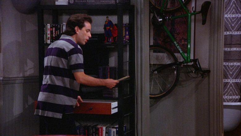 Klein Green Bicycle in Seinfeld Season 6 Episode 3 The Pledge Drive (1)