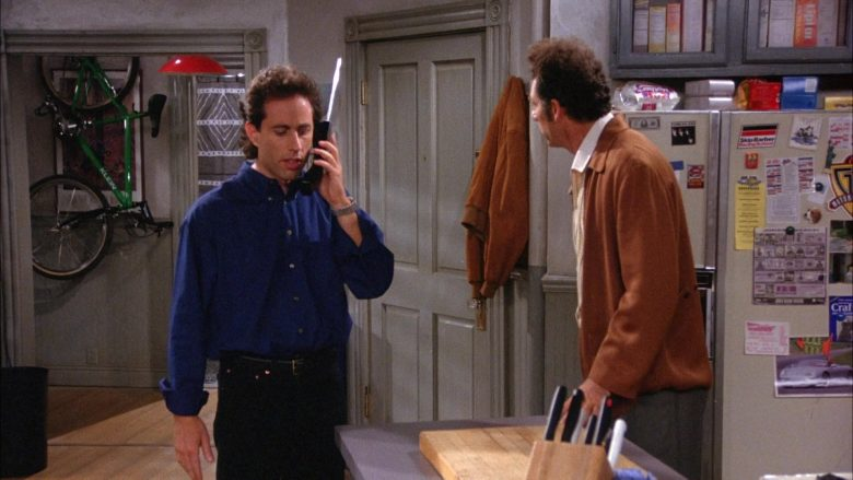 Klein Green Bicycle in Seinfeld Season 6 Episode 3 The Pledge Drive (3)