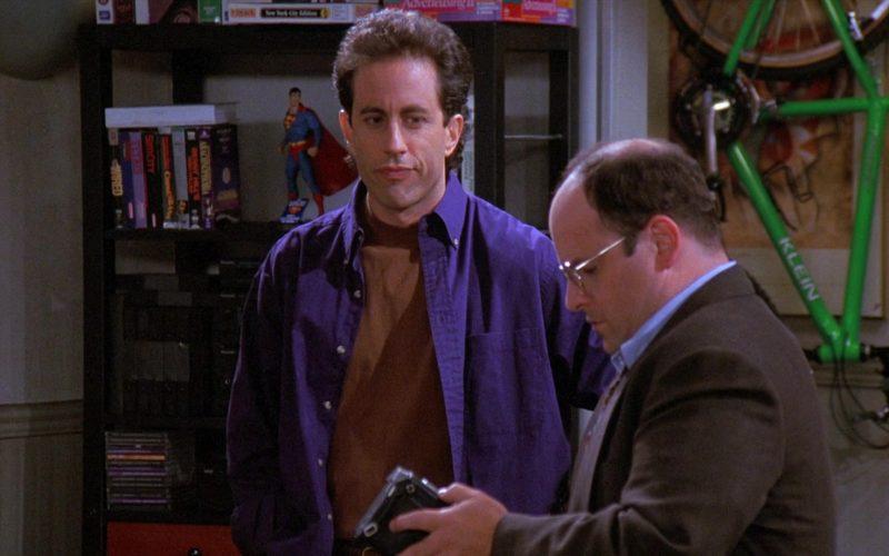 Klein Green Bike in Seinfeld Season 8 Episode 2 The Soul Mate
