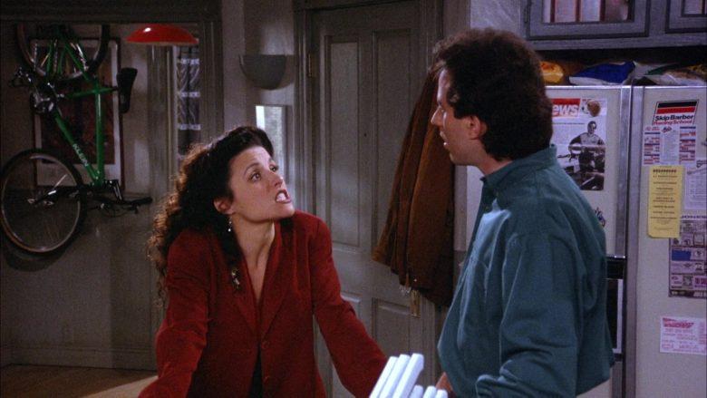 Klen Bicycle in Seinfeld Season 6 Episode 19 The Jimmy