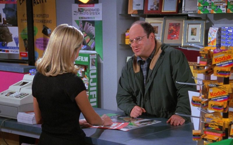 Kodak in Seinfeld Season 8 Episode 5 The Package