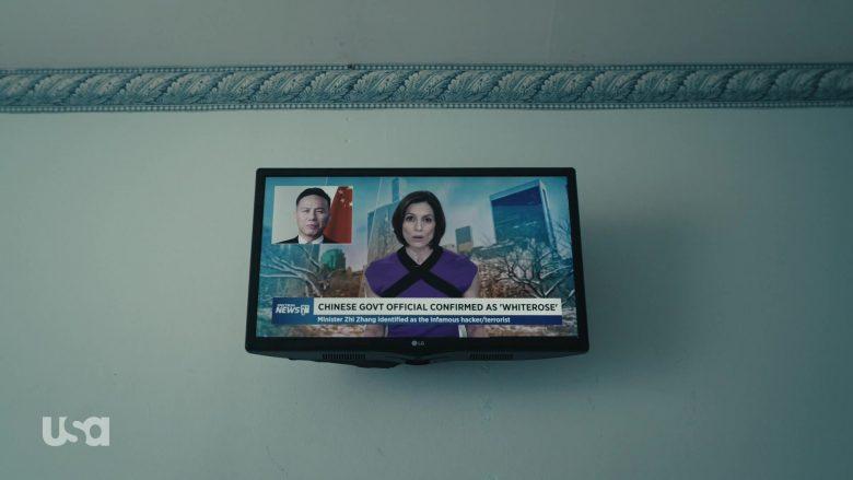 LG TV and Spectrum News in Mr. Robot Season 4 Episode 10 410 Gone (2)