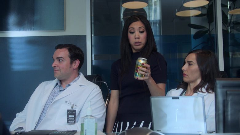 LaCroix Sparkling Water Enjoyed by Brittany Ishibashi as Tina Minoru in Runaways Season 3 Episode 2 The Great Escape (2)