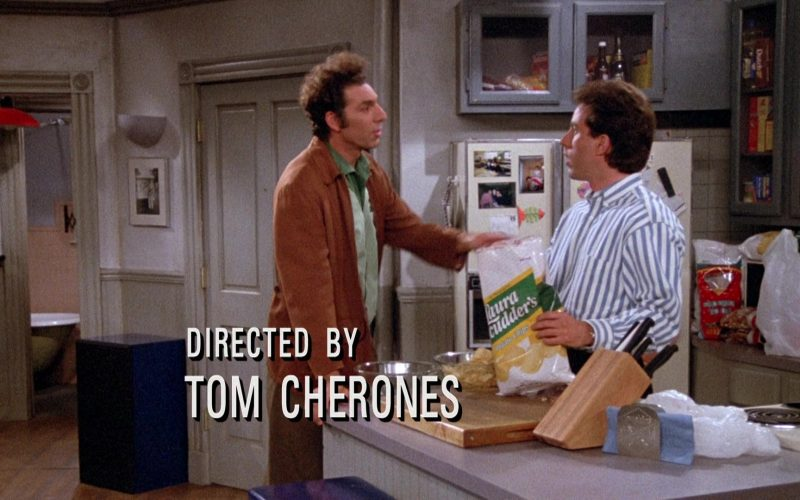 Laura Scudder's Chips Enjoyed by Jerry Seinfeld in Seinfeld Season 3 Episode 22
