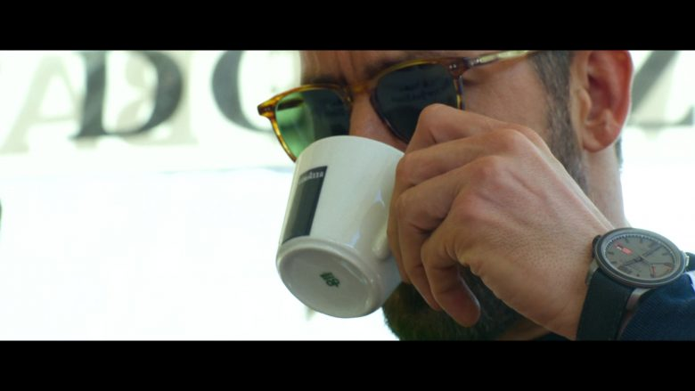 Lavazza Coffee Enjoyed by Ryan Reynolds and Chopard Watch in 6 Underground (2019)