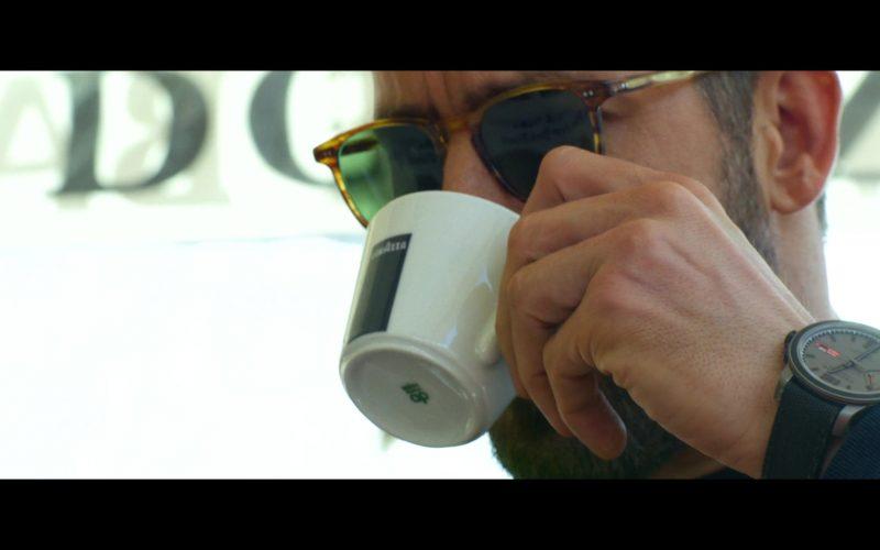 Lavazza Coffee Enjoyed by Ryan Reynolds and Chopard Watch in 6 Underground (2019)