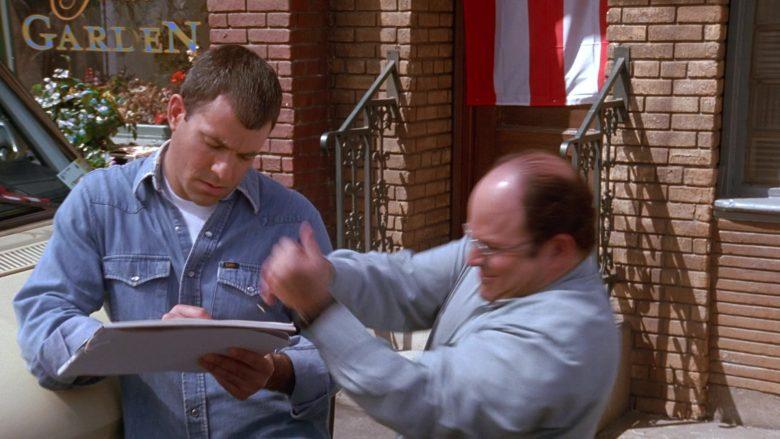 Lee Denim Shirt For Men in Seinfeld Season 9 Episode 20 The Puerto Rican Day (1)