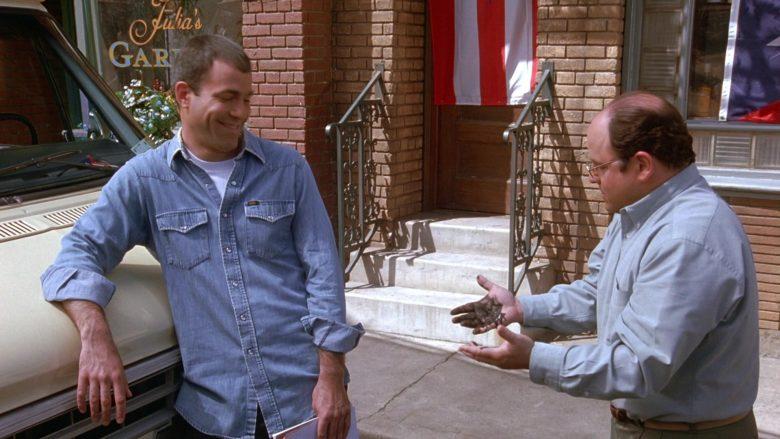 Lee Denim Shirt For Men in Seinfeld Season 9 Episode 20 The Puerto Rican Day (4)