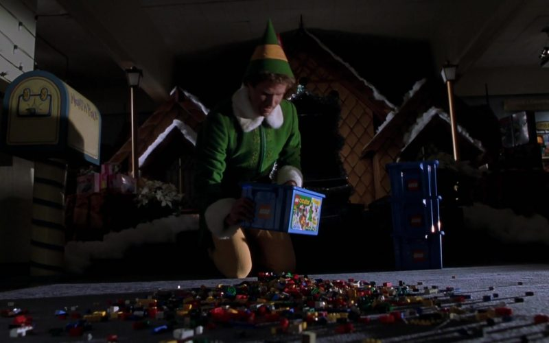 Lego Bricks Used by Will Ferrell in Elf Movie (1)