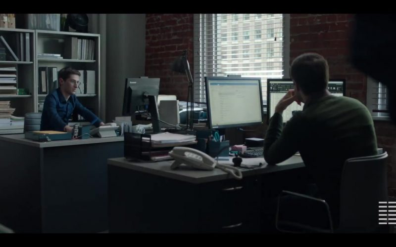 Lenovo Monitor Used by Noah Robbins in The Assistant (2019)