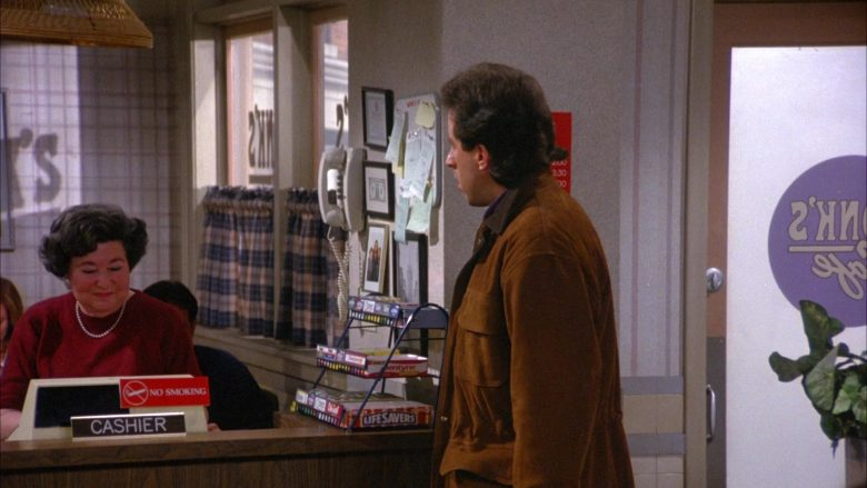 Life Savers Candies in Seinfeld Season 6 Episode 13 The Scofflaw (2)