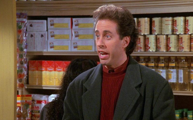 Lipton Tea in Seinfeld Season 8 Episode 11 The Little Jerry (2)